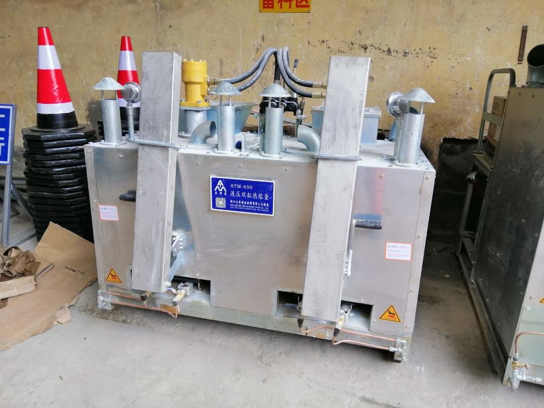 Hydraul Double Cylinder Fuel Gas Preheater